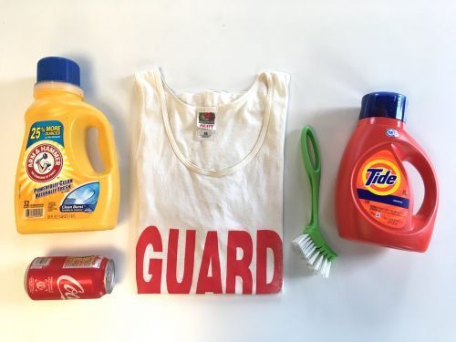 I tried removing stains from a white shirt with Tide and Arm & Hammer to see which detergent is better, and Tide came out victorious