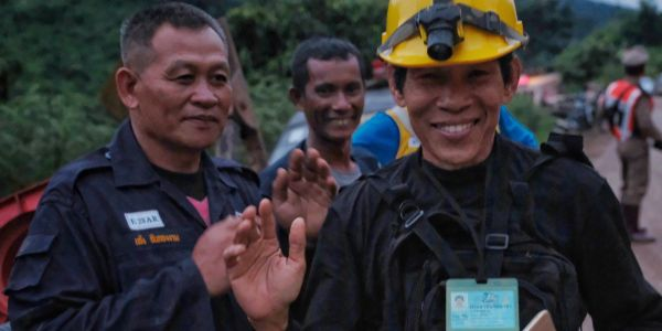 The parents of the Thai boys trapped in a cave wrote a letter to their soccer coach telling him not to blame himself