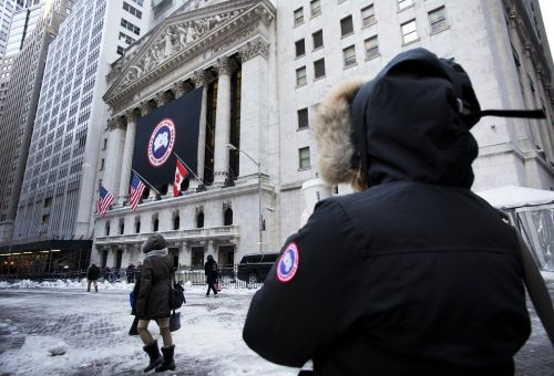 Canada Goose is adding to Friday's big gains