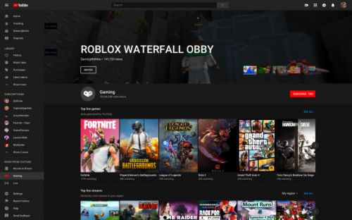 YouTube Gaming app is done, but its features survive on YouTube proper