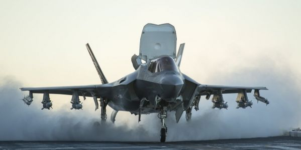 The US Navy just quietly sent an F-35 aircraft carrier to the Pacific - and it signals a big change