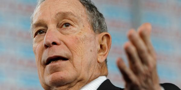 Without evidence, Bloomberg campaign blames Sanders supporters for spate of vandalism