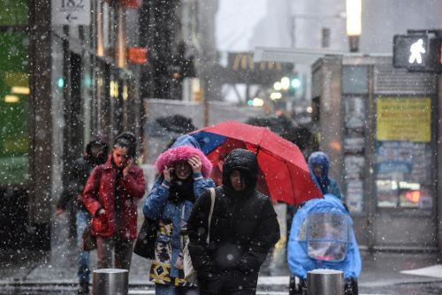 Spring is officially here - but the East Coast is about to get pummeled by another winter storm