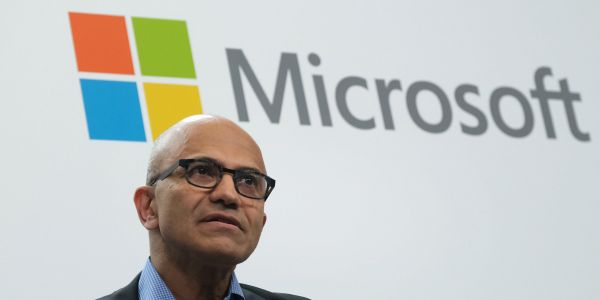 Microsoft is headed for a record high after cloud computing drives a strong earnings beat