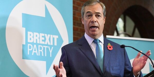 Nigel Farage says Boris Johnson's Conservatives offered to make him a Lord in exchange for standing down Brexit Party candidates