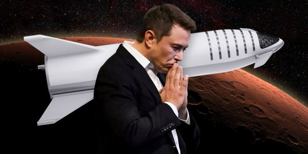 Elon Musk just announced a new name for the 387-foot-long SpaceX rocket he wants to send to Mars