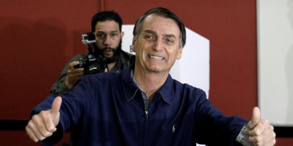 The 'Brazilian Donald Trump,' Jose Bolsonaro, is visiting the White House. He was elected president despite saying he couldn't love a gay son and that a colleague was too 'ugly' to be raped