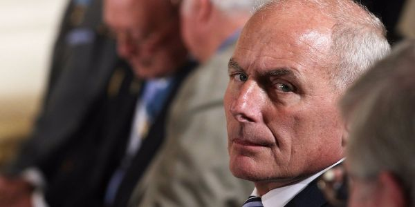 John Kelly reportedly grabbed a former Trump official by the collar and pushed him against the wall during a heated argument