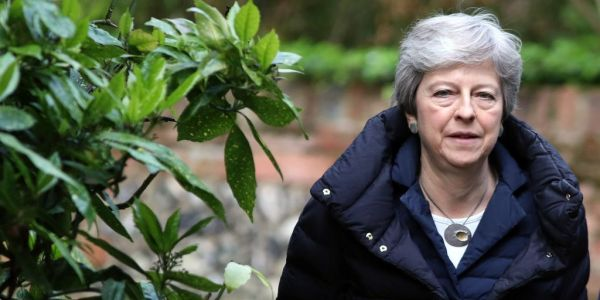 When will Theresa May resign as prime minister and Conservative leader?