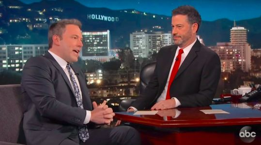 'I'm not Batman': Ben Affleck confirms he is done playing the Caped Crusader on 'Jimmy Kimmel Live'