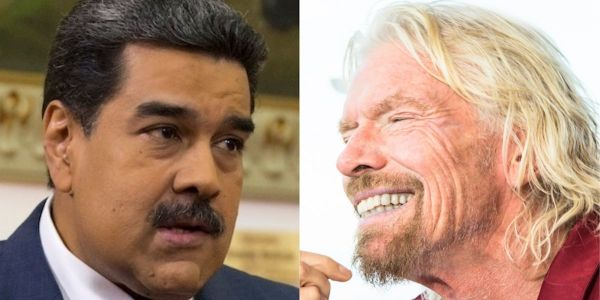 Nicolás Maduro is waging a bizarre contest with Richard Branson to see who can stage the best pop concert - as Venezuela crumbles