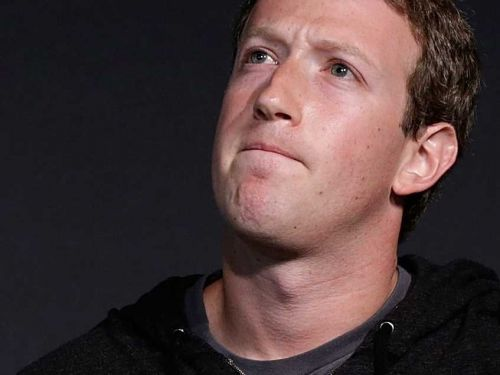 Mark Zuckerberg is losing the confidence of Facebook staff after he plummeted down a list of America's best CEOs