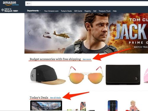 Amazon just made a subtle change to its website, and some shoppers say they're stressed