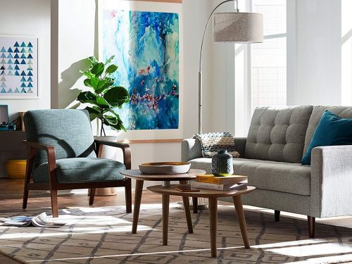 I tested out furniture from Amazon's new private-label brands - and the quality is surprisingly comparable to my higher-end furniture
