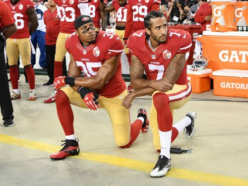 NFL free agent believes he remains unsigned because he protested with Colin Kaepernick