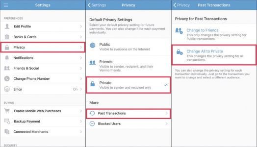 Millions of Venmo transactions scraped in warning over privacy settings