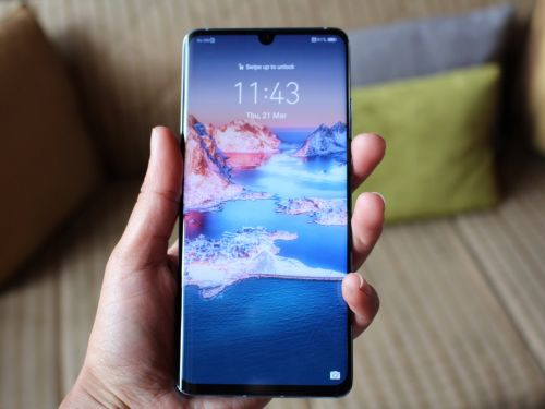 Huawei's crazy new phone ditches the ear speaker and lets you hear calls through a vibrating screen