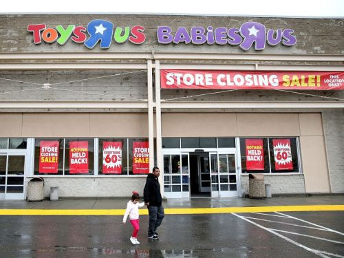 Toys R Us' bankruptcy delivered a big blow to the jobs report