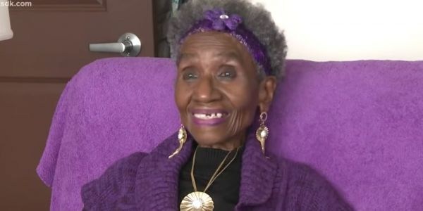 An 86-year-old woman lost 120 pounds by walking back and forth in her one-bedroom apartment every day