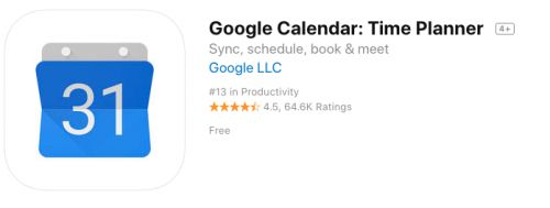 How To Add the Google Calendar App to Your iPhone