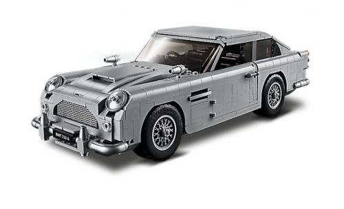 LEGO made James Bond's Aston Martin, complete with working ejector seat