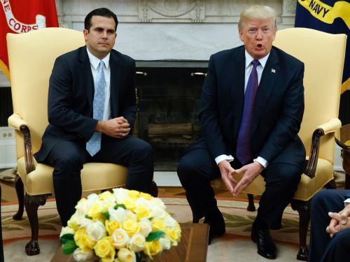 Puerto Rico's governor criticizes Trump's talk of using disaster funding for border wall