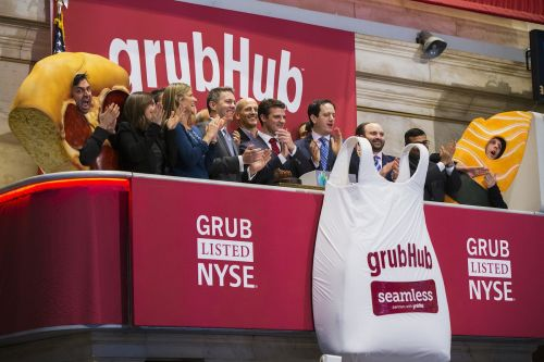 GrubHub tumbles after Uber says it has a massive opportunity in food delivery