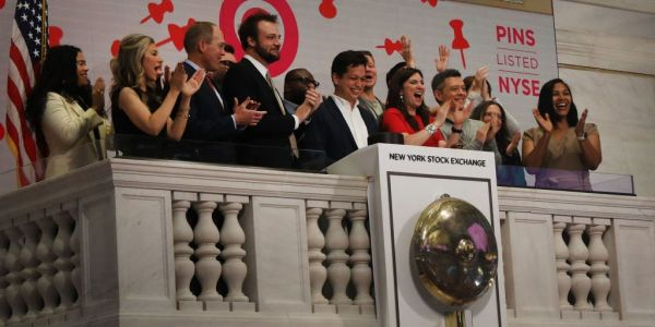Pinterest jumps 8% on report Microsoft tried to acquire the $51 billion online pinboard platform