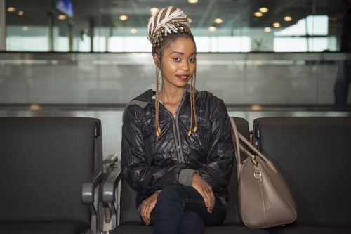 An airport employee has spent almost a year photographing people from all over the world, and the results are stunning