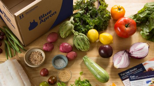 Blue Apron is bleeding customers and revenue, but hey, its stock is up
