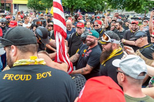 'Standing by sir': Proud Boys praise Trump's comment telling them to 'stand by' during first presidential debate