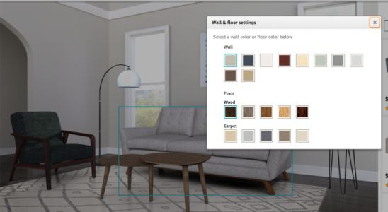 Amazon debuts Showroom, a visual shopping experience for home furnishings