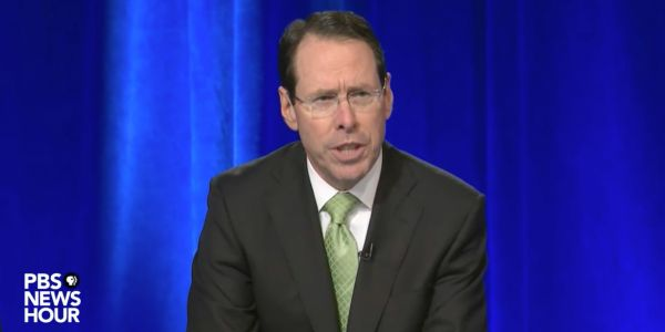 AT&T CEO on whether Trump's CNN antipathy is behind DOJ lawsuit: No one 'should be surprised the question keeps coming up'