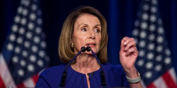 Nancy Pelosi loves to quote a Bible verse that isn't actually in the Bible at all