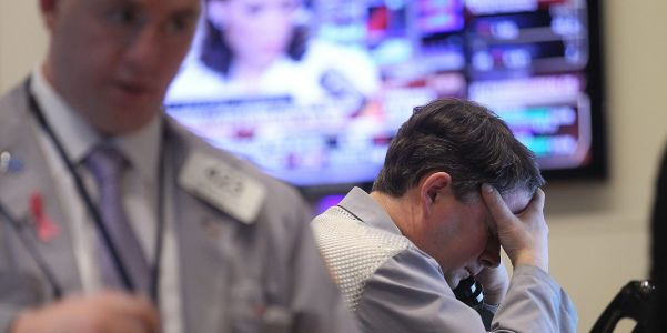 Dow falls 561 points, tech stocks plunge as spiking bond yields rattle investor nerves