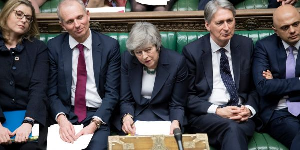 Theresa May suffers new Brexit defeat after Conservative MPs abandon their support for her plan B