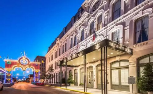 Tremont House Hotel in Galveston Sold