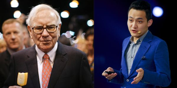 Crypto boss Justin Sun is down $8 million on his GameStop bet - and reveals he told Warren Buffett to invest in Tesla and bitcoin