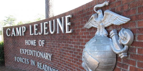 1 million have been ordered to flee Hurricane Florence, but the Marine Corps' Camp Lejeune says it's going to stay and 'fight'