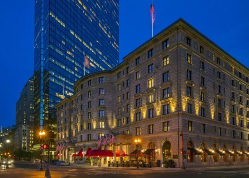 Fairmont Copley Plaza Named the 2019 Historic Hotels of America Historic Hotel of the Year