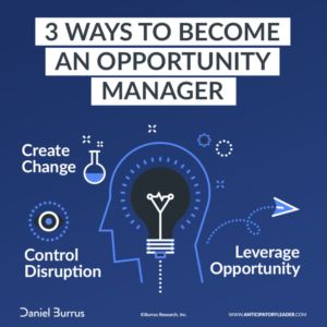 Crisis Manager or Opportunity Manager? You Decide