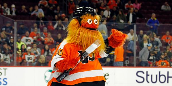 The Philadelphia Flyers have a terrifying new mascot, and he's already breaking the internet
