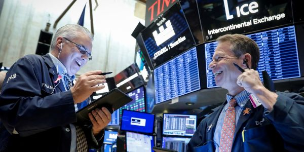 Dow climbs 691 points as healthcare firms make progress towards coronavirus treatment