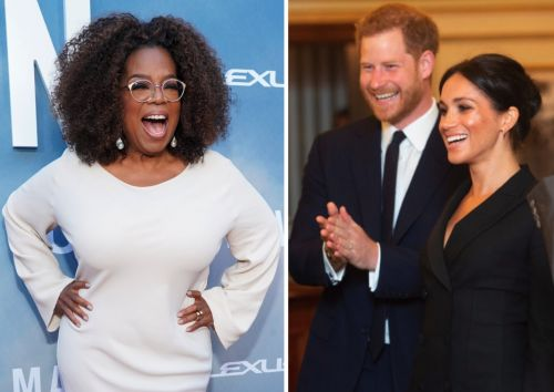 Oprah Winfrey is '1,000 percent' supportive of Prince Harry and Meghan Markle stepping back and said they made the 'best decision' for their family
