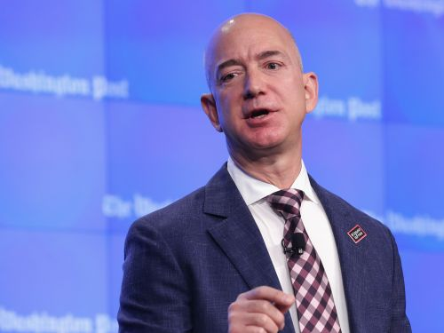 Jeff Bezos visited an Amazon warehouse and a Whole Foods to thank employees who are working during the coronavirus crisis as safety concerns rise among workers