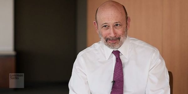 Goldman Sachs boss Lloyd Blankfein says the new London Stock Exchange CEO has been 'a terrific partner and friend'