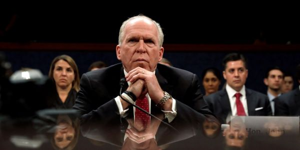 'This is how a whiny tyrant acts': Democrats and intel veterans slam Trump for revoking Brennan's security clearance