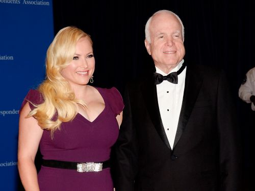 Meghan McCain started a deaddadsclub hashtag to honor her dad on Father's Day