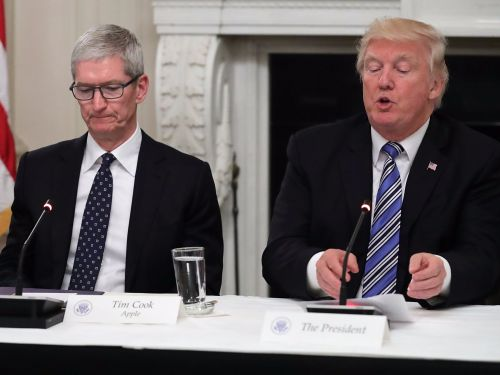 Here's how much Apple CEO Tim Cook spent trying to stop Donald Trump from becoming president