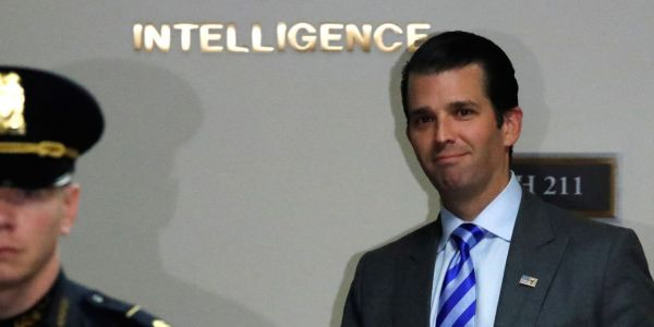 Donald Trump Jr. slammed Britain for lack of progress with Brexit, and said it has fallen prey to the same 'deep-state' forces opposing his father